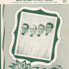 Vintage Trying Sheet Music by Billy Vaughn Randy Smith Music