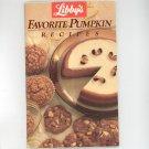 Libby's Favorite Pumpkin Recipes Cookbook