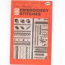 Vintage One Hundred Embroidery Stitches by Coats & Clark's Number 150 A