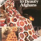 Leisure Arts Crocheted Scraps To Beauty Afghans Leaflet 163 Extra Easy Instructions