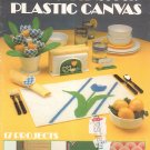 Leisure Arts Table Settings For Plastic Canvas Leaflet 231