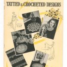 Star Book 30 Tatted & Crocheted Designs Vintage American Thread 1944