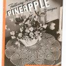 Clark's J P Coats Book 230 14 New Pineapple Designs Doilies Tablecloths Bedspreads Runners