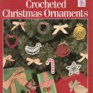 Leisure Arts Crocheted Christmas Ornaments Leaflet 617 by Anne Halliday
