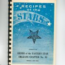 Vintage Recipes Of The Stars Cookbook Regional Eastern Star New York With Advertisements