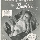 Vintage Baby Styles by Beehive Number 35 Patons & Baldwins Limited Toronto