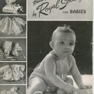 Vintage Hand Crochet by Royal Society For Babies Book Number 2