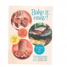 Vintage Bake It Easy Recipe Pamphlet / Cookbook Fleischmanns Yeast 1961