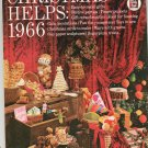 Vintage Family Circle Christmas Helps 1966 Finger Puppets Food Toys To Sew Cards To Make Plus