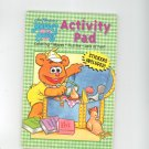 Muppet Babies Activity Pad Coloring Mazes Puzzles With Stickers 1593943636 Appalachian Artworks