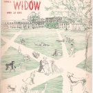 Vintage Cornell Widow Magazine March 1951 Cornell University With Advertising