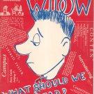 Vintage Cornell Widow Magazine January 1952 Cornell University With Advertising