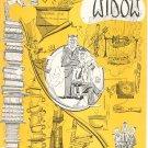 Vintage Cornell Widow Magazine January 1954 Cornell University With Advertising