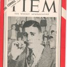 Vintage Cornell Widow Magazine November 1951 Cornell University With Advertising