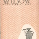 Vintage Cornell Widow Magazine November 1950 Cornell University With Advertising