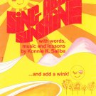 Sing About Sunshine by Konnie Saliba Vintage Music Book