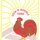Cock A Doodle Tunes by Konnie Saliba Country Songs Vintage Music Book