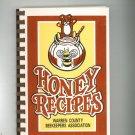 Honey Recipes Cookbook Regional Ohio Warren County Beekeepers Association