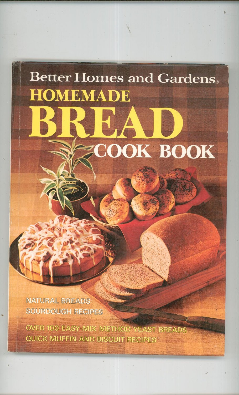 Better homes and gardens homemade bread cookbook 069600660x vintage 1978 Better homes and gardens house painting tool