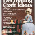 Decorating & Craft Ideas Magazine September 1979 Vintage Back Issue Not PDF