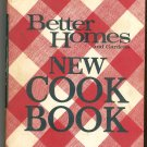 Better Homes and Gardens New Cook Book Cookbook Vintage