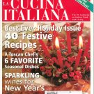 The Magazine Of La Cucina Italiana November December 2001 Sicilian Seafood Feast Back Issue Not PDF