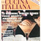The Magazine Of La Cucina Italiana January February 2001 Tortellini & Raviolit Back Issue Not PDF