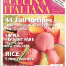 The Magazine Of La Cucina Italiana September October 2001 Perfect Cream Puffs Back Issue Not PDF