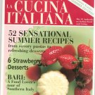 The Magazine Of La Cucina Italiana May June 2002 Summer Zucchini Back Issue Not PDF