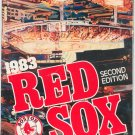 Boston Red Sox 1983 Scoreboard Magazine Official  Second Edition