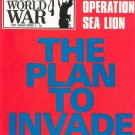 History Of The Second World War Number 8 Purnell's Operation Sea Lion Invade Britain