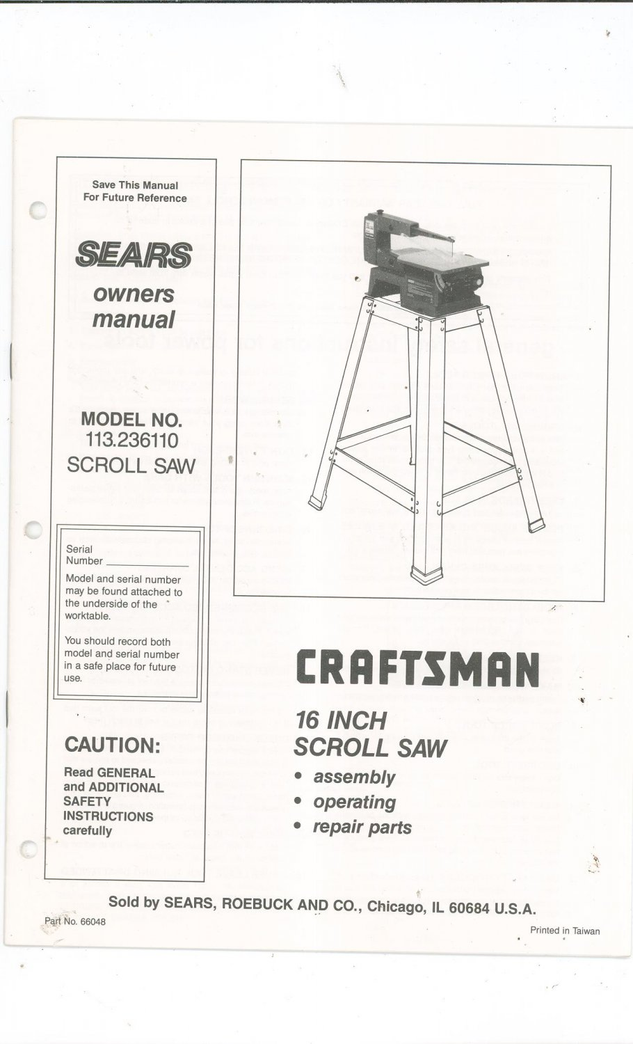 craftsman saw owners manual perfectget. Black Bedroom Furniture Sets. Home Design Ideas