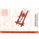 Portalign Instruction Booklet Drill Guide Model 101A