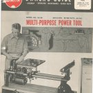 Shop Smith Multi Purpose Power Tool Model 10 ER Owners Manual Magna Engineering Vintage