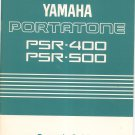 Yamaha Portatone PSR 400 PSR 500 Owners Guide Manual Not PDF