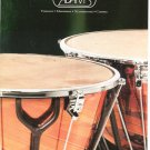 Adams Catalog Tympani Marimras Xylophones Chimes 1998
