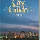 Nashville City Guide 1984 1985 Directory Hard Cover