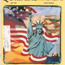 Quilter's Newsletter Magazine May 1986 Issue 182 Not PDF