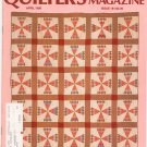 Quilter's Newsletter Magazine April 1986 Issue 181 Not PDF