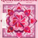 Quilter's Newsletter Magazine February 1986 Issue 179 Not PDF