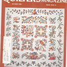 Quilter's Newsletter Magazine October 1985 Issue 176 Not PDF