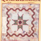 Quilter's Newsletter Magazine June 1985 Issue 173 Not PDF