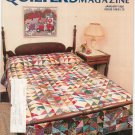 Quilter's Newsletter Magazine January 1985 Issue 168 Not PDF