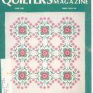 Quilter's Newsletter Magazine June 1984 Issue 163 Not PDF