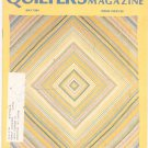 Quilter's Newsletter Magazine May 1984 Issue 162 Not PDF