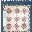 Quilter's Newsletter Magazine February 1982 Issue 139 Not PDF