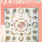 Quilter's Newsletter Magazine June 1983 Issue 153 Not PDF