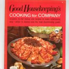 Good Housekeeping's Cooking For Company 9 Cookbook  Vintage 1967