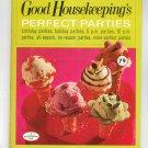 Good Housekeepings Perfect Parties Cookbook Book 10 1967 Vintage