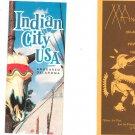 Vintage Lot Of 2 Anadarko Oklahoma Travel Brochures Indian City
